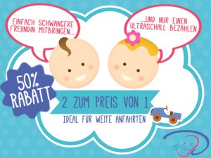 3D-Baby-Ultraschall-Freundinnen-Aktion